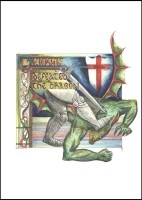 St. George and the Dragon - Banner
