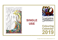 *2019* Downloadable Colouring Calendar - Single Use - Offer £6.00