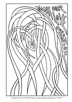 03 - First Sunday Advent - 1 Thess 3.9-13 - Downloadable / Printable Colouring Sheet