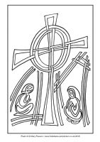 05 - First Sunday Advent - Psalm 9 - Downloadable / Printable Colouring Sheet