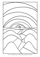10 - Second Sunday Advent - Luke 3.1-6 - Downloadable / Printable Colouring Sheet