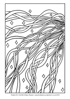 16 - Third Sunday Advent - Psalms 50.1-6 & 62 - Downloadable / Printable Colouring Sheet