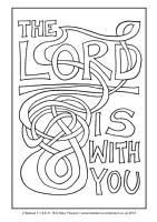 26 - Christmas Eve - 2 Samuel 7.1-5,8-11,16 - Downloadable / Printable Colouring Sheet