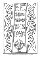 31 - Christmas Eve - Zechariah 2 - Downloadable / Printable Colouring Sheet