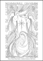 Prince of Peace - Multicoloured Christmas - Downloadable / Printable - Colouring Sheet