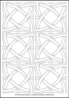 Chi Rho - Multicoloured Christmas - Downloadable / Printable - Colouring Sheet
