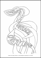 14 Lenten 2020 - Psalm 32 - Colouring Sheet - The First Sunday of Lent