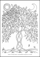 27 Lenten 2020 - Psalm 74 - Colouring Sheet - The Second Sunday of Lent