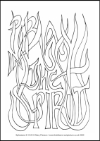 34 Lenten 2020 - Ephesians 6.10-20- Colouring Sheet - The Third Sunday of Lent
