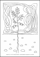 77 Lenten 2020 - Isaiah 52.13 - 53.12 -  Colouring Sheet - Good Friday