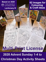 * Advent 2020 Activity Sheets - Digital Files - Multi Print